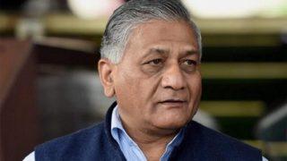 केंद्रीय मंत्री वी के सिंह ने कहा- पश्चिमी उत्तर प्रदेश में स्थापित होगा हाईकोर्ट बेंच