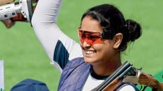 India at CWG 2018: Shreyasi Singh Clinches Gold in Women's Double Trap Finals