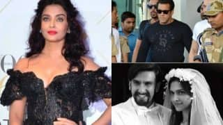 Salman Khan – Blackbuck Case Update; Aishwarya Rai Bachchan Confirms Raat Aur Din Remake; Deepika Padukone's Marriage Plan With Ranveer Singh: Bollywood Week in Review