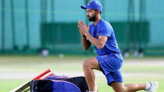 IPL2018: प्रैक्टिस करने मैदान में उतरे अजिंक्य रहाणे, हैदराबाद के खिलाफ पहला मैच