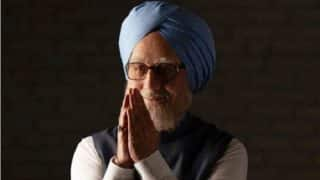 Anupam Kher Shares An Uncanny Resemblance With Former PM Manmohan Singh In The Accidental Prime Minister - Watch Video