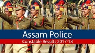 Assam Police Constable Examination 2017-18 Result Declared; Check on assampolice.gov.in
