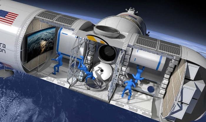 अंतरिक्ष में ऐसा होगा ऑरोरा स्टेशन का लग्जरी होटल. (फोटो साभारः ऑरियन स्पैन)
