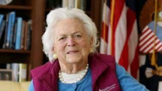 Barbara Bush, Former First Lady of United States, Dies at 92