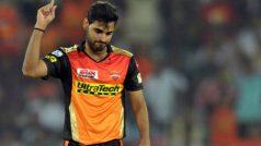 सनराइजर्स हैदराबाद पर एक और 'चोट', मुंबई के खिलाफ नहीं खेलेंगे भुवी