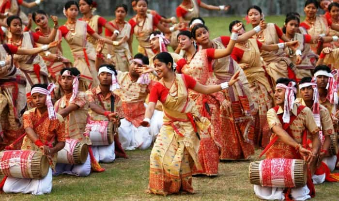 Image result for Rongali Bihu