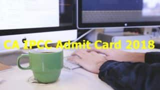 ICAI Exam 2018: Admit Card Released On The Official Website For IPCC Exam, Download Soon