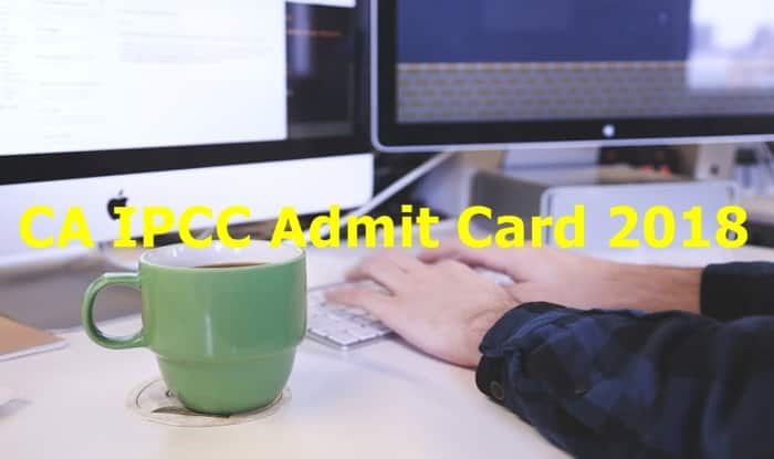 CA Admit Card 2018