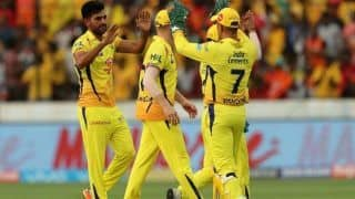 विलियमसन पर भारी पड़ी रायडू-रैना की शतकीय साझेदारी, चेन्नई ने रोमांचक मुकाबले में हैदराबाद को हराया