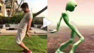 एलियन के साथ डांस कॉम्पटीशन करते दिखे शाहिद कपूर, वीडियो हुआ वायरल