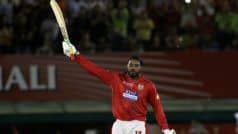 Chris Gayle Leads Virat Kohli in Most Centuries List in IPL
