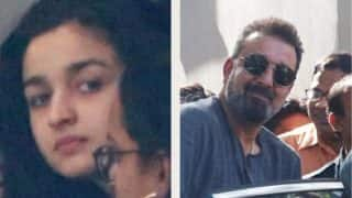Sanjay Dutt, Alia Bhatt Spotted At Mahesh Bhatt's Office, Does This Mean They've Started Prepping For Sadak 2?