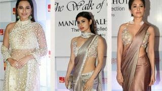 Mijwan 2018 : Mouni Roy, Nushrat Bharucha, Sonakshi Sinha Look Stunning As They Make A Grand Red Carpet Appearance At The Celebrated Event