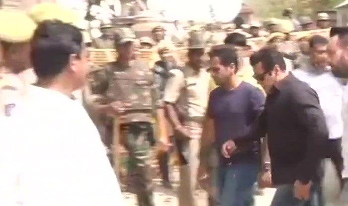 Salman Khan at Jodhpur court