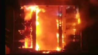 Bhiwandi: Fire Breaks Out at Union Bank of India Branch, Two Fire Tenders at Spot