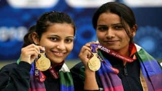 Shooters Annu Singh, Heena Sidhu Enter Final of Women's 25 Metre Pistol Event at Commonwealth Games 2018