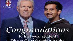 भारतवंशी किशोर ने अमेरिका के सबसे लोकप्रिय क्विज शो में जीते 66 लाख रुपए