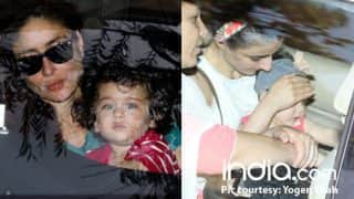 Taimur Ali Khan, Kareena Kapoor Khan, Inaaya Naumi Kemmu, Soha Ali Khan Meet At Amrita Arora's House - See Pics