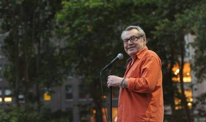 Oscar winning director Milos Forman passed away at 86