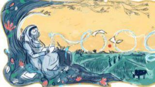 Google Celebrates Renowned Poet, Freedom Fighter, Women's Rights Activist Mahadevi Verma With Doodle
