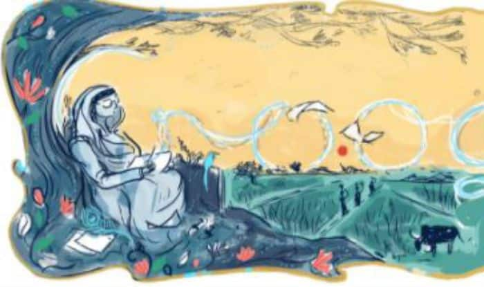 Google doodle dedicated to Jnanpith winning writer, educationist Mahadevi Varma