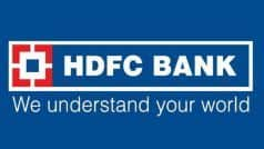 HDFC Bank hikes Fixed Deposit Rates