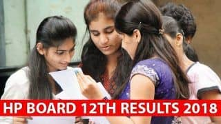 Himachal Pradesh Board 12th Result 2018 जारी, 70.18% हुए पास