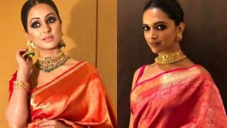 Hina Khan Gets Trolled For Copying Deepika Padukone - See Comments