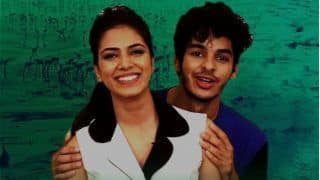 Beyond The Clouds Stars Ishaan Khatter - Malavika Mohanan Give You Lessons In Understanding Mumbai Slangs (VIDEO)