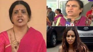Sri Reddy Leaks Effect:Jeevitha Rajasekhar Lashes Out At Sandhya For Sexual Abuse Allegations; Social Activist StrikesBack