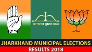 Jharkhand Municipal Corporation Elections 2018 Results: BJP Sweeps All 5 Local Bodies, Wins Mayor, Deputy Mayor Posts in Adityapur, Hazaribagh, Giridih, Modinagar, Ranchi Nagar Nigam