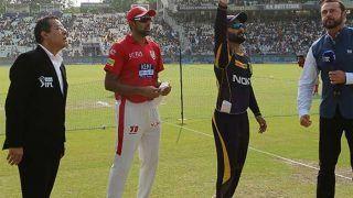 कोलकाता के खिलाफ पंजाब ने टॉस जीतकर लिया पहले गेंदबाजी का फैसला, प्लेइंग इलेवन में किया बदलाव