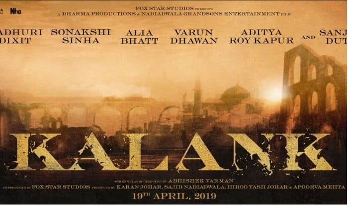 Karan Johar's star-studded production 'Kalank' cast revealed