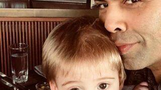 Karan Johar's Recent Pic With Son Yash Johar Will Brighten Up Your Sunday - View Pic