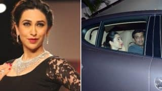 Karisma Kapoor And Boyfriend Sandeep Toshniwal Hang Out At Kareena Kapoor Khan - Saif Ali Khan's Bandra Home