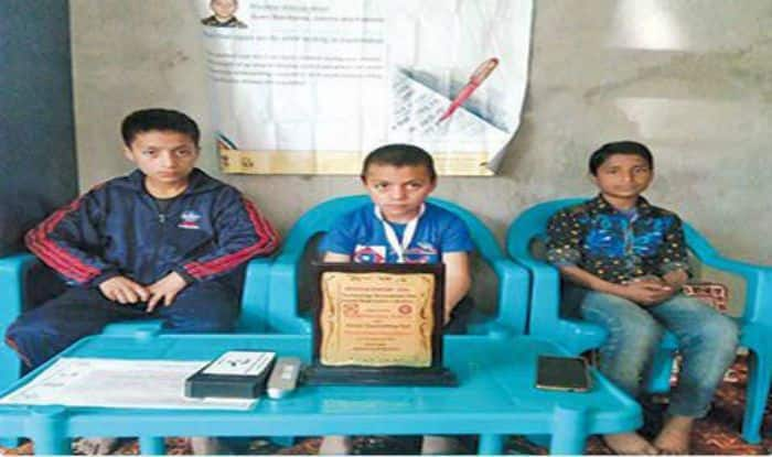 9-year-old Kashmir Boy invented 'counting pen'.  Courtesy: www.greaterkashmir.com