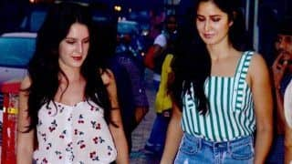 Katrina Kaif Takes A Break From Zero For A Quiet Dinner With Sister Isabelle Kaif and Parents (PICS)