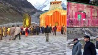 Kedarnath Shrine Opens Today For Pilgrims, All Arrangements in Place; Laser Show on Lord Shiva to Welcome Devotees