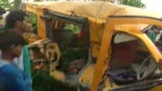 11 Students Dead in School Van-Train Collision, Railways Says Guard Tried to Stop Vehicle at Crossing