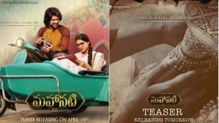 Mahanati Teaser: Samantha Ruth Prabhu, Vijay Deverakonda's Look From The Savitri Biopic Leave Fans Unimpressed