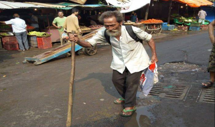 Manipur Man Wandering on Streets PC- Twitter