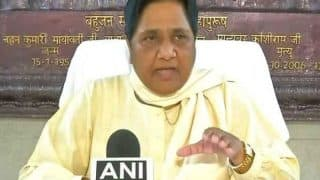 'Scared' BJP Targeting Dalits After Bharat Bandh Success, Claims BSP Supremo Mayawati