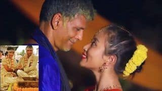 Milind Soman - Ankita Konwar Dance To Made In India A Night Before Getting Married And We Are Jealous!