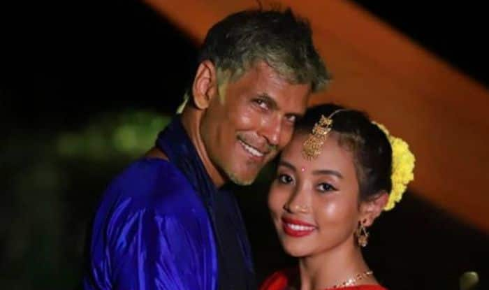 Milind Soman, Ankita Konwar exchange love notes on Instagram after wedding