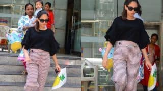 Mira Rajput Steps Out For The First Time After Second Pregnancy Announcement; Flaunts Painting Made By Little Misha (PICS)