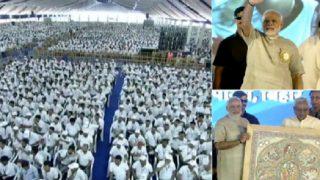 Narendra Modi in Bihar News And Updates: PM Congratulates Nitish Govt, 'Swachhagrahis' For Constructing 8,50,000 Toilets in Bihar