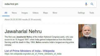 India's First PM: Jawaharlal Nehru or Narendra Modi? Google India Search Goof Up Leaves Internet Users Shocked