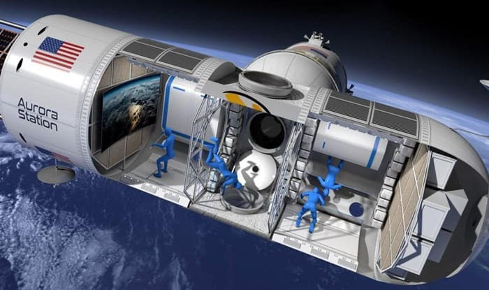 First luxury space hotel open to guests in four years time