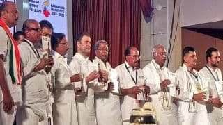 Congress Manifesto For Karnataka Assembly Elections 2018 Released by Rahul Gandhi, Siddaramaiah; Highlights