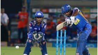 IPL 2018: Krishnappa Gowtham Cameo Guides RR to 3 Wickets Victory Over MI